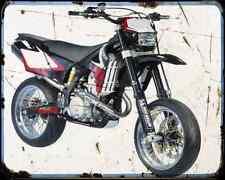 Gas Gas Sm 515 Fsr 08 A4 Metal Sign Motorbike Vintage Aged