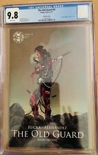 The Old Guard #4 CGC 9.8 NM/MT Spawn Variant 1st Print