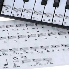 Comfortable 49 61 Electronic Keyboard 88 Key Piano Stave Note Sticker A1C2 New