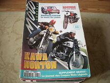 MOTO LEGENDE 060 07.1995 MOTEURS AMC 125 & 175 NORTON 88SS KAWASAKI MACH III