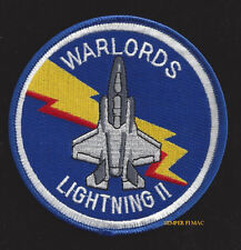 VMFAT-501 WARLORDS F-35 US MARINES HAT PATCH 2ND MAW PIN UP WING GIFT PILOT CREW
