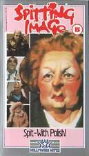SPITTING IMAGE: SPIT-  WITH POLISH! (VHS 2000) TV SERIES COMEDY - USED