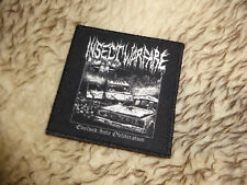 Insect Warfare Patch Grindcore Nasum