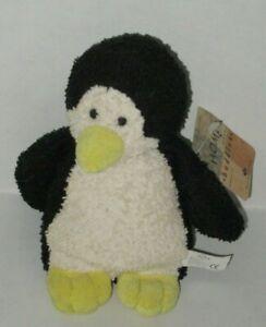 VTG 1995 Russ Berrie Home Buddies Perky Penguin Terry Cloth Beanie Plush 4155