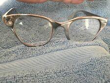 1950's TURA ALUMINUM LADIES FRAME WITH ASSYMETRIC DECOR TO TAKE ATTENTION AWAY!!