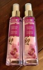 Lot of 2 New Calgon Tahitian Orchid Fragrance Body Mist 5 fl oz x 2