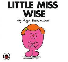 *BRAND NEW* LITTLE MISS WISE by ROGER HARGREAVES (Toddler book, Little Miss)