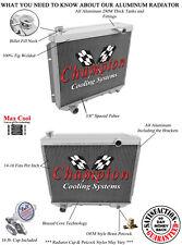 V8 Engine, 1958 Edsel Pacer 3 Row Champion Aluminum DR Radiator