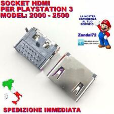 SOCKET HDMI PLAYSTATION 3 PS3 CECH 2000 2500 PORT CONNETTOR HDMI 3 ROWS 19 PIN