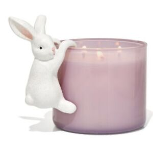 NEW✨BATH & BODY WORKS SPRING EASTER HANGING BUNNY🐇 HOLDER  FOR 3 Wick Candle.