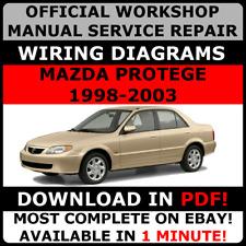 mazda protege 1994 1998 service repair manual