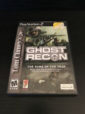 Playstation 2 Tom Clancy's Ghost Recon (Tested) Game Of The Year