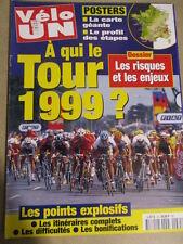 VELO : GUIDE DU TOUR DE FRANCE : 1999 :  VELO UN SPECIAL TOUR DE FRANCE