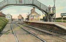 Hesleden Railway Station Photo. Castle Eden - Hart. Hartlepool Line. (1)