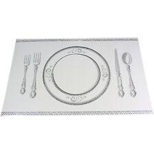 24x Banquet Style Disposable Paper Placemats Table Place Mats Placemats