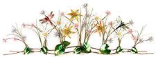 Gartenfiguren & -skulpturen aus Metall mit Blumen-Motiv