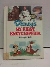 Disney's My First Encyclopedia Vol 2: Anteater-Backpacking
