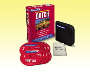 Pimsleur Dutch Learn to Speak Conversational  Language 8 CD  (16 Lessons)
