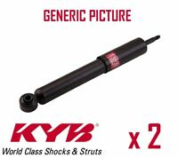 2 x REAR AXLE SHOCK ABSORBERS PAIR STRUTS SHOCKERS KYB OE QUALITY 3450005