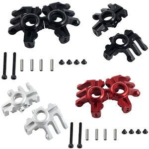 CNC Steering Cup Kits Upgrade Parts for 1/10 Simulation Climbing Car Axial RBX10
