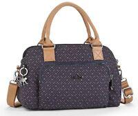 Kipling Alecto Small Handbag in Woven Blue Geo BNWT