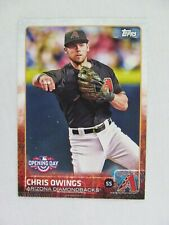 Chris Owings Arizona Diamondbacks 2015 Topps Baseball Card 46
