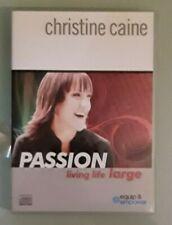 christine caine  PASSION LIVING LIFE LARGE  CD  3 disc set