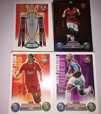 Match Attax Extra 07/08 All 82 Base Cards All 20 Captains With Trophy Card