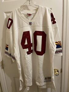Arizona Cardinals Pat Tillman Mitchell & Ness White 2000 Replica Jersey 52 2XL