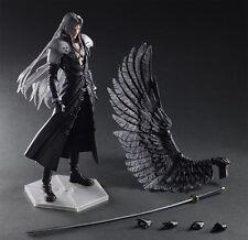 Play Arts Kai Final Fantasy VII 7 Advent Children Sephiroth Action Figure In Box