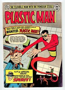 Super Comics PLASTIC MAN #18 Mar 1964 vintage comic FN+ condition