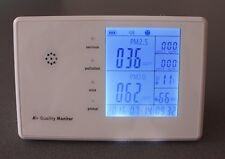 PM 2,5 10 Laser Partikelmessgerät Feinstaubmessgerät Luftverschmutz
