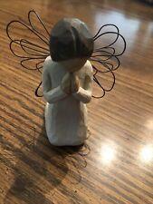 demdaco willow tree angel of prayer 4� tall Figurine