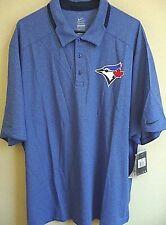 MLB Nike DRI-FIT Toronto Blue Jays Baseball Polo Shirt XXL NWT 615427