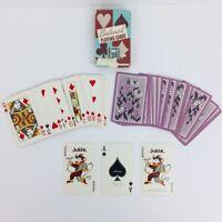Whitman Boulevard Playing Cards Standard Deck Pinwheel Flowers 8522