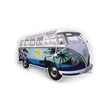 Camper Van Bus T1 Wall Clock Surf Volkswagen VW Collection by BRISA BUWC05