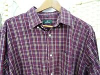 Kingfield brushed cotton shirt  lumberjack flannel soft long sleeve check XL