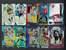 RC LOT (34) 2017-19 PANINI PRIZM SILVER RED BLUE ICED PRIZM FB RC LOT LOADED $$$