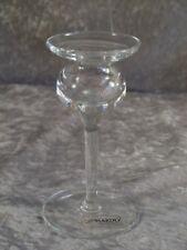 Leonardo Kristallglas Glas Kerzenhalter Kerzenständer Kerzenleuchter 14 cm