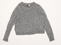 Divided by H&M Womens Grey  Knit Pullover Jumper Size M