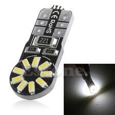 1X DC 12V T10 W5W 3014 SMD 18 LED Canbus Car Wedge Side Light Bulb Lamp White