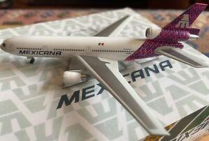 1:400 Jet-x Mexicana McDonnell Douglas DC-10-15 N10045 'Mazaltepac'