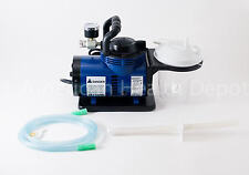 MEDICAL DENTAL VET PORTABLE HEAVY DUTY SUCTION MACHINE VACUUM ASPIRATOR PUMP