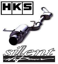 Hks Silenciosa Alta Potencia se adapta a sistema de escape Toyota Starlet Turbo EP91