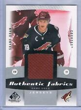 2010-11 SHANE DOAN UD SP GAME USED AUTHENTIC FABRICS #AF-SD COYOTES