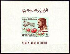 Yemen 1966 ** Bl.54 WHO Ibn Sina Avicenna Arzt Medizin Medicine