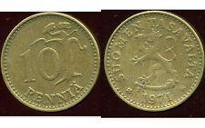 FINLANDE 10 pennia 1971