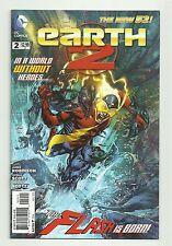 Earth 2 #2 (2012) NM Alan Scott GAY Green Lantern seen on TV DC 1st Print NEW 52