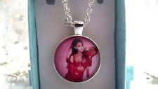 ARIANA  GRANDE PHOTO  SINGER NECKLACE 22 INCHES DANCE POP MUSIC GIFT BOXED PARTY