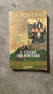 livre HARRY POTTER à l'école des sorciers (tome 1) - JK Rowling - Gallimard